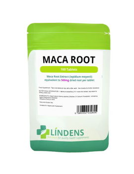 Lindens Maca Root Extract 500mg 100 Tablets Lepidium Meyenii Natural Supplement by Ebay Seller