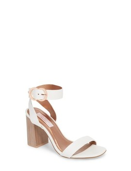 Vallama Block Heel Sandal by Ted Baker London