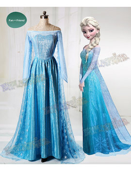 Disney Frozen ( Movie) Cosplay, Elsa Costume Adult Women Outfit by Etsy