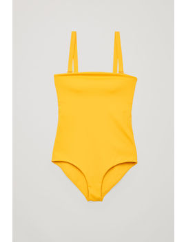 Swimsuit With Removable Straps by Cos