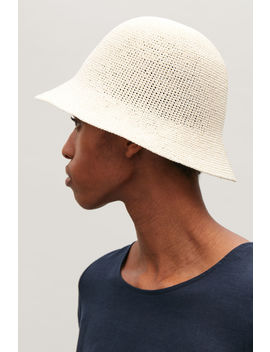 Crochet Bucket Hat by Cos