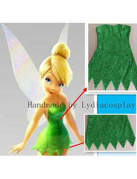 Handmade   Tinker Bell Costume, Tinkerbell Costume, Tinkerbell Dress, Tinker Bell Dress, Tinker Bell Cosplay Costume Adult/Kid by Etsy