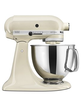 Kitchen Aid Ksm150 Psac Artisan Series 5 Qt. Stand Mixer With Pouring Shield   Almond Cream by Kitchen Aid