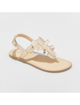 Girls' Naomi Ruffle Thong Sandals   Cat & Jack™ by Cat & Jack™