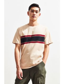 Uo Stone Stripe Tee by Urban Outfitters