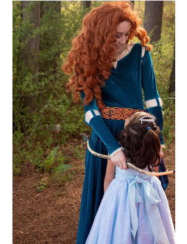 Merida Wig by Etsy