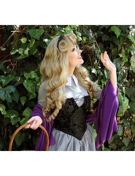 Sleeping Beauty Aurora Adult Costume Wig A True Enchantment Original by Etsy