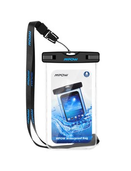 Waterproof Case, Mpow Universal Durable Underwater Dry Bag, Touch Responsive Transparent Windows,Watertight Sealed System For I Phone 7/6s/6s Plus/5/5s/Se And Other Smartphone For Boating/Hiking/Swimming/Diving by Amazon