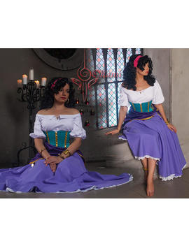Custom Made   Notre Dame   Esmeralda   Cosplay by Etsy