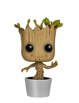 Funko Pop Marvel: Guardians Of The Galaxy Dancing Groot Bobble Action Figure by Amazon