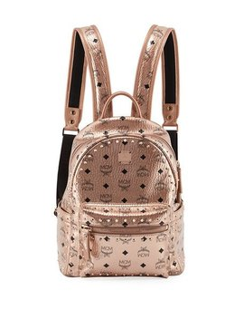 Stark Outline Studs Backpack by Mcm