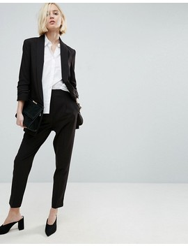 Asos Mix & Match Blazer With Rouched Sleeve by Asos Collection