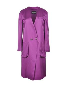 Emporio Armani Double Breasted Pea Coat   Coats And Jackets  D by Emporio Armani