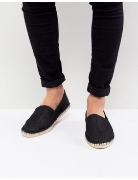 Asos Espadrilles In Black Mesh by Asos Design