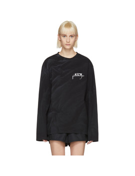 Black Long Sleeve 17 Leavers T Shirt by A Cold Wall*