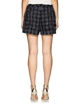 Tweed Sailor Shorts by Balmain