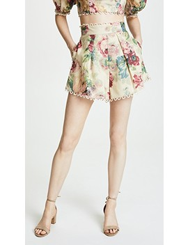 Melody High Waist Shorts by Zimmermann