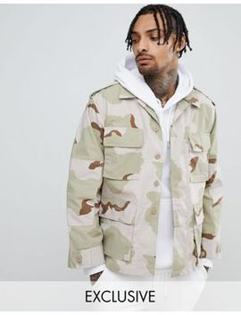 Reclaimed Vintage Revived Dessert Camo Jacket by Reclaimed Vintage