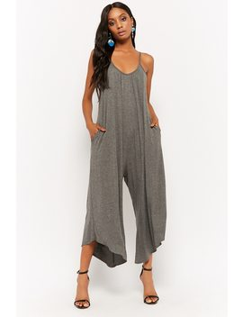 Scoop Neck Wide Leg Jumpsuit by F21 Contemporary