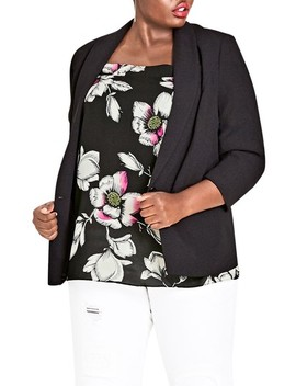 Dapper Blazer by City Chic