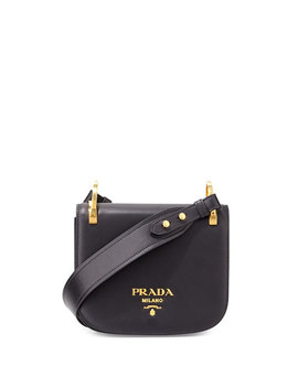 Pionnière Leather Shoulder Bag, Black (Nero) by Neiman Marcus