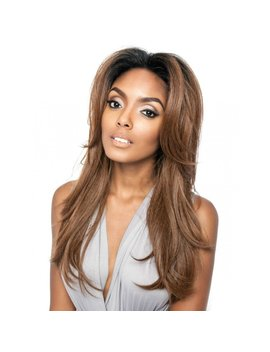 "Isis Mane Concept Brown Sugar 13""X4"" Front Lace Wig   Bsf01 (1 B) by Isis"