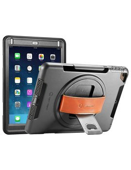New Trent I Pad Case 2018/2017, Heavy Duty Gladius Full Body Rugged Protective Case With Built In Screen Protector & Dual Layer Design For Apple I Pad 9.7 Inch 2017/2018 by New Trent