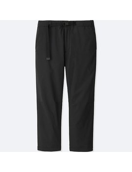 Men Dry Cropped Jogger Pants by Uniqlo