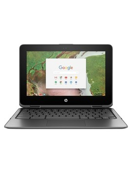 """Hp X360 Convertible Touchscreen Chromebook 11 Ae0207 Nr 11.6"""" Laptop Cloudy Gray by Hp"""