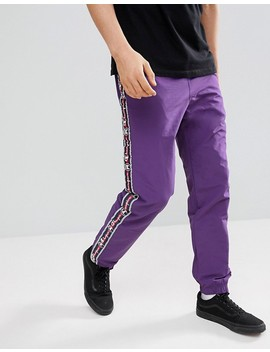 Champion Track Joggers In Purple by Champion