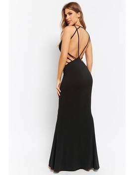 Strappy Bodycon Maxi Dress by Forever 21