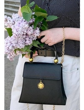 Vintage Inspired Chain Strap Bag by Poppy Lovers Fashion