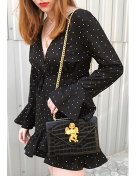 Vintage Inspired Baroque Chain Bag by Poppy Lovers Fashion
