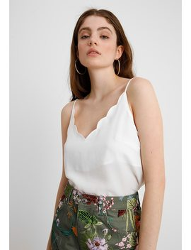 Scallop Cami   Top by Topshop