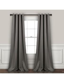 "Insulated Grommet Blackout Curtain Panels Pair Set 52""X84""   Lush Decor by Lush Decor"