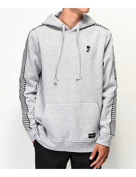 Empyre Final Lap Grey Hoodie by Empyre