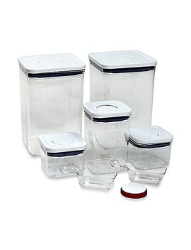 Oxo Good Grips® 8 Piece Baking Essentials Pop Container Set by Bed Bath And Beyond