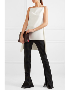 Asymmetric Crepe Tunic by Dion Lee