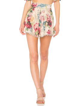 Melody High Waisted Short by Zimmermann