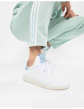 Adidas Originals Pharrell Williams Tennis Hu Sneakers In White Cq2167 by Adidas Originals