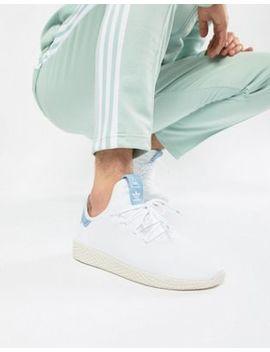 Adidas Originals Pharrell Williams Tennis Hu Sneakers In White Cq2167 by Adidas Originals