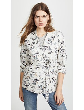 Printed Linen Jacket by Rebecca Taylor