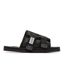 Black Kaw Cab Sandals by Suicoke
