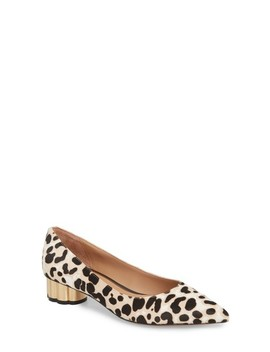 Toledo Ii Genuine Calf Hair Pump by Linea Paolo