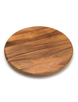 "Lipper International 1118 Acacia Wood 18"" Lazy Susan Kitchen Turntable by Lipper International"