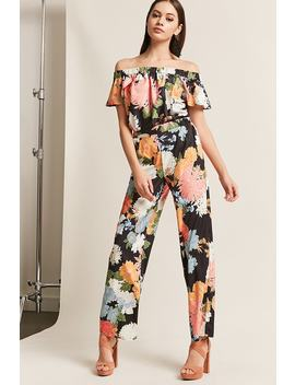 Rd & Koko Floral Woven Pants by Forever 21