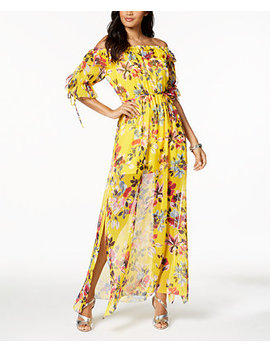 Off The Shoulder Maxi Dress by French Connection