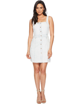 Button Front Dress In Desert Sun Bleached 1 by 7 For All Mankind