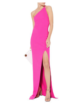 Petch Pink Gown by Solace London