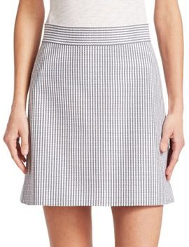 High Waist Mini Skirt by Theory
